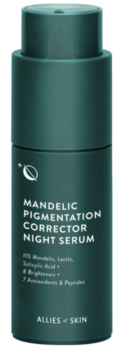 Allies of Skin Mandelic Pigmentation Corrector Night Serum cыворотка от пигментации 30мл