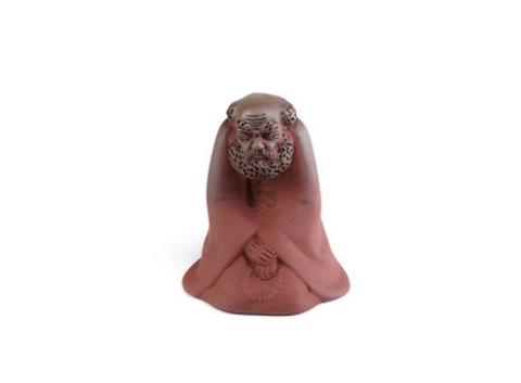 Чайная фигурка из глины