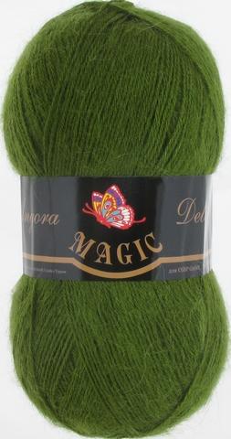 Пряжа Angora Delicate Magic 1108 Зеленый кедр - купить в интернет-магазине недорого klubokshop.ru