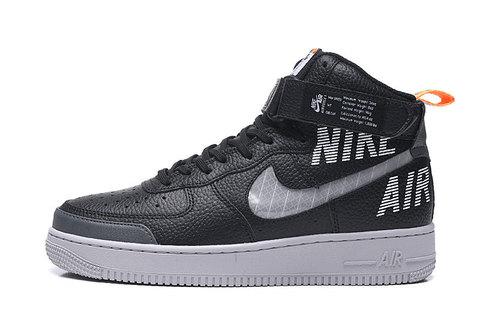 Nike Air Force 1 High 'Black/Grey'