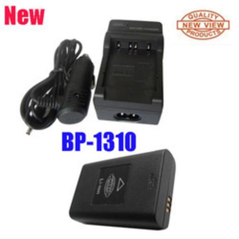 Зарядное устройство (ЗУ, зарядка) для Samsung NX5, NX10, NX11, NX20, NX100 (акк. BP-1310, BP1310), сеть+авто