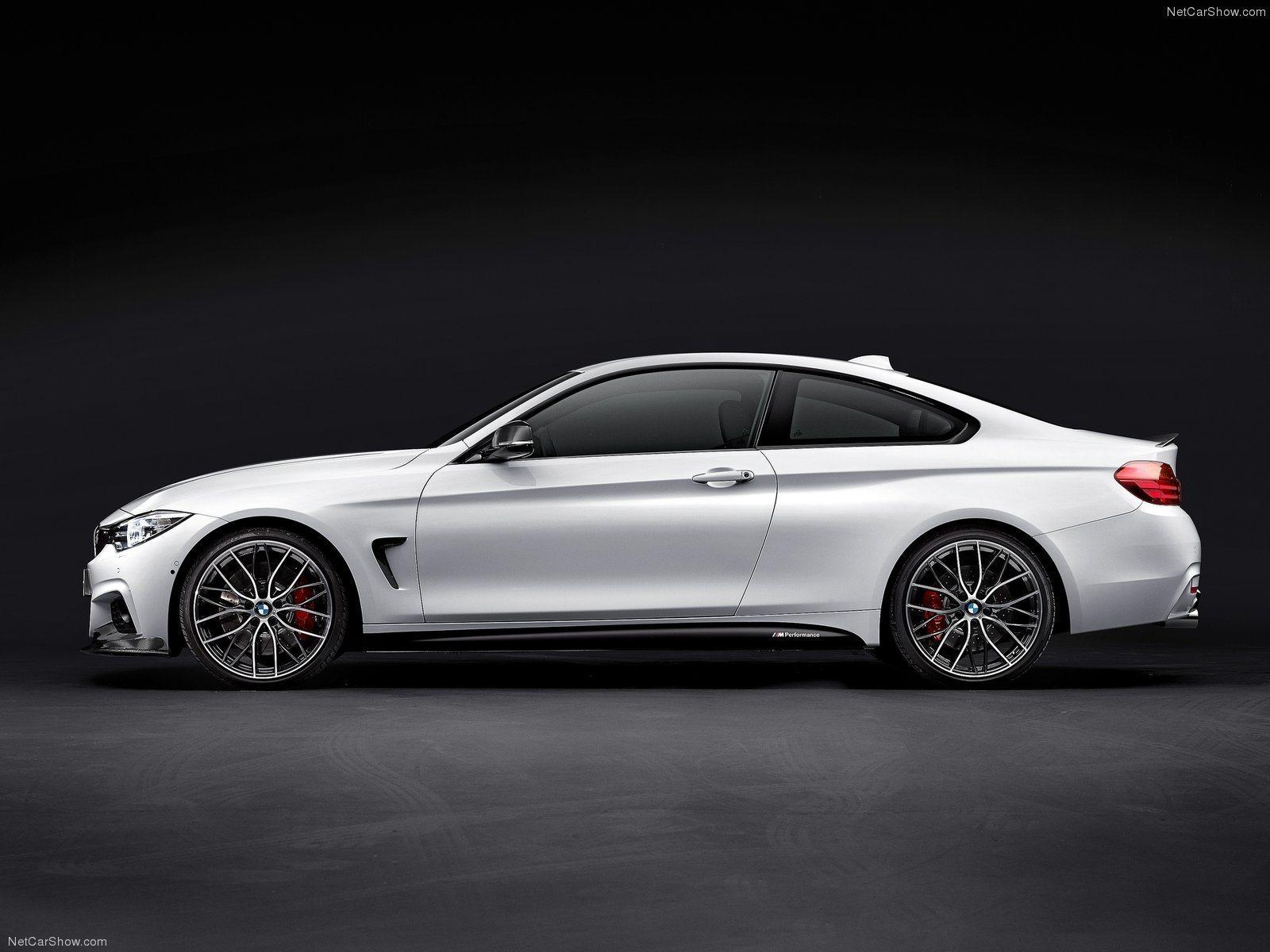 Карбоновые лезвия под пороги Performance Style для BMW 4er