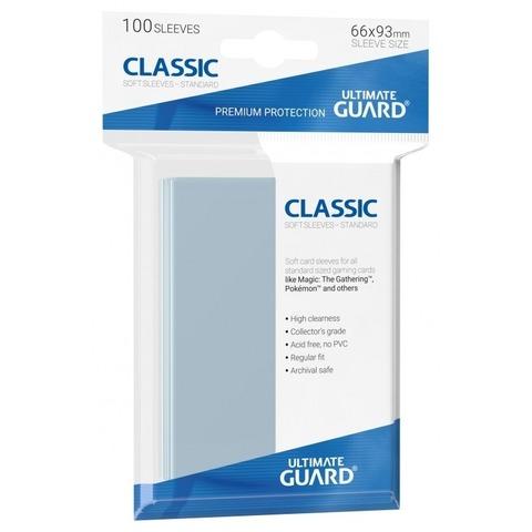 Ultimate Guard - Прозрачные протекторы 100 штук (классические)