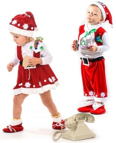 Костюм Санта Клаус Кроха 3