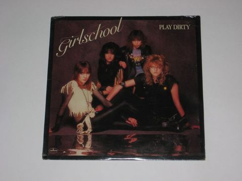 Girlschool ‎/ Play Dirty (LP)
