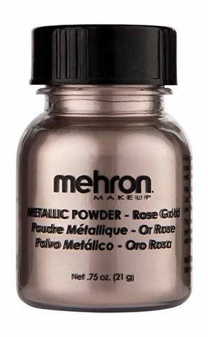 MEHRON Металлическая пудра-порошок Metallic Powder, Rose Gold (Розовое золото), 21 г