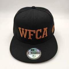 Кепка с логотипом WFCA, AKHMAT fight club (Бейсболка Ахмат) черная