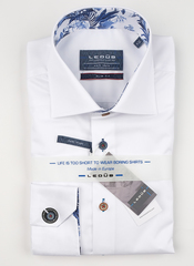 Рубашка Ledub slim fit 0138622-910-150-120