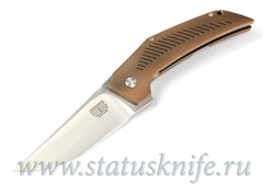 Нож Tashi Bharucha Custom Heatseeker Titanium