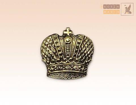 значок бронзовый Большая императорская корона