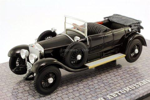 Rolls-Royce Silver Ghost personal car V.I. Lenin 1906 DIP Models 1:43