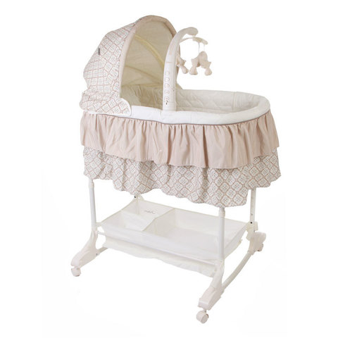 Кроватка-Люлька детская Jetem Sweet Dream (mobile) 3 в 1