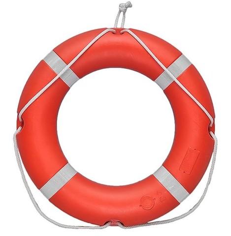 Круг спасательный с сертификатом РМРС (морской)