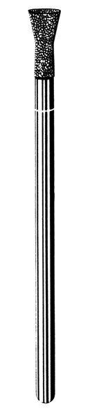 Лабораторные алмазные инструменты «SS WHITE» серия LAB 43/4040 Группа III. Средняя крошка.