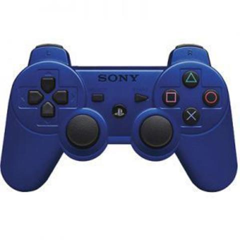 Беспроводной контроллер DualShock 3 (синий, копия)