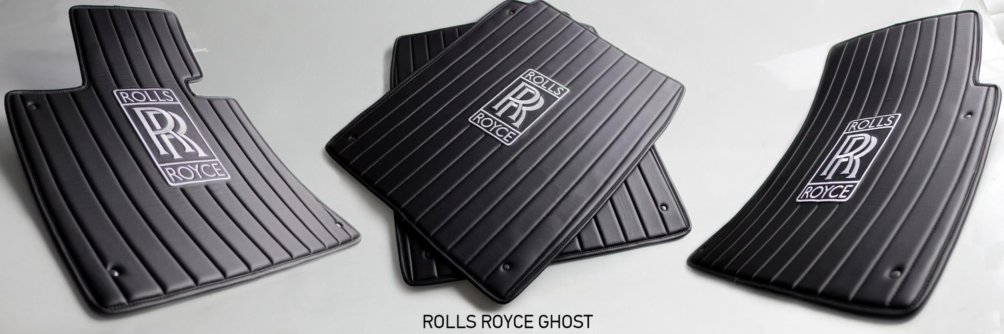Коврики из эко-кожи Vestis для Rolls Royce