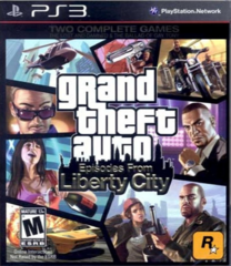 PS3 Grand Theft Auto: Episodes From Liberty City (английская версия)