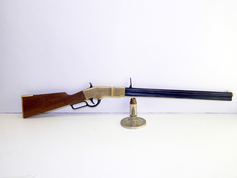 Miniature gun Henry 1860 rifle scale 1:3