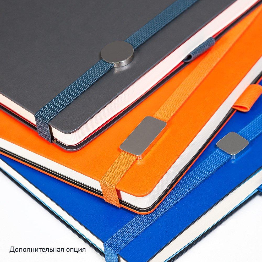 Ежедневник недатированный, Portobello Trend, Arctic , жесткая обложка, 145х210, 256 стр, белый, срез-фольга/т.-синий