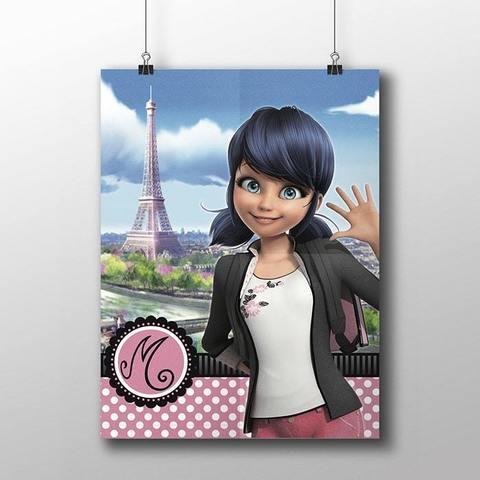 Плакат с Маринетт