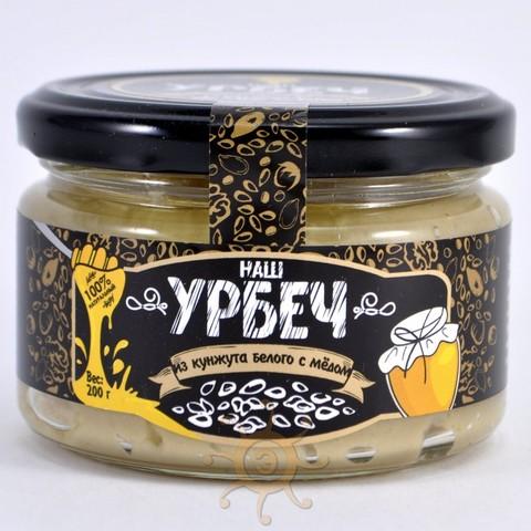Урбеч из белого кунжута с мёдом Наш урбеч, 200г