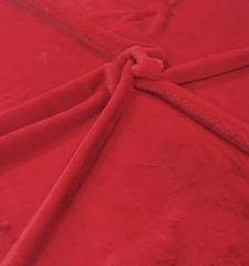 Экомех (100% полиэстер) Ярко-красный