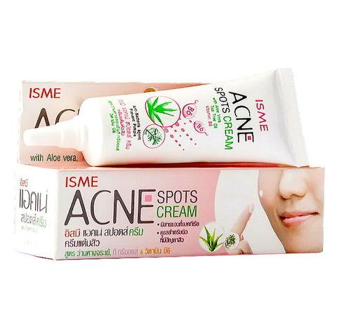 Крем от прыщей Isme Acne Spots Cream (Таиланд), 10гр
