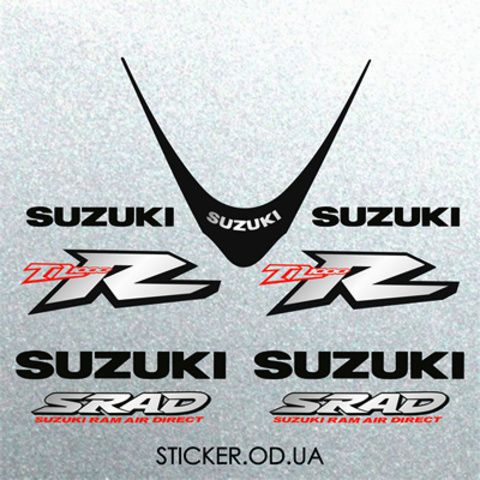 Набор наклеек на мотоцикл Suzuki TL 1000R 2000