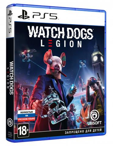 PS5 Watch Dogs: Legion (русская версия)