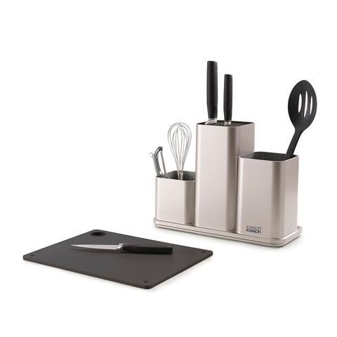 Органайзер для кухонной утвари настольный CounterStore серебристый