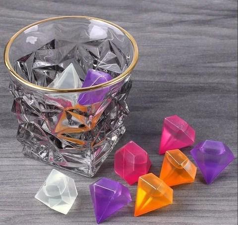 Кубики для охлаждения напитков 12шт (многоразовые)