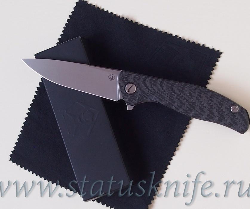 Нож Широгоров Ф3 Elmax 3D CF карбон