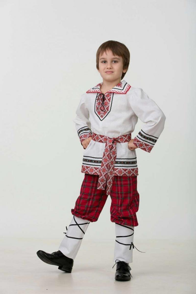 5601  Национальный костюм (мальчик).