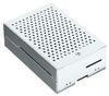 Корпус для Raspberry Pi 4 с вентилятором (LT-4B01 / алюминий / серебристый)