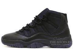 Кроссовки Мужские Nike Air Jordan XI Retro Black Carbon