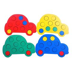 Мозаика Машинки, Smile decor, пример игры