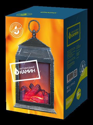 Светильник-камин ФАЗА FL-H27 USB
