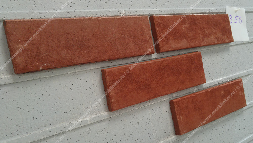 Stroeher - 356 erdfeuer, Zeitlos, состаренная поверхность, ручная формовка, 240x71x14 - Клинкерная плитка для фасада и внутренней отделки