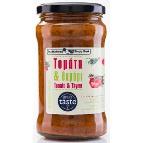 Соус из томатов и тимьяна Simply Greek 280 гр
