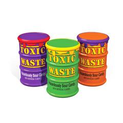 Кислые конфеты Toxic Waste Color Drums 48 гр
