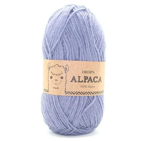 Пряжа Drops Alpaca 6347 серо-голубой