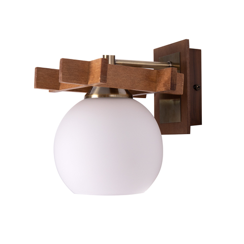 INL-3089W-01 Antique brass & Walnut