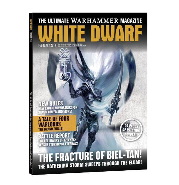 White Dwarf. Февраль 2017. Обложка