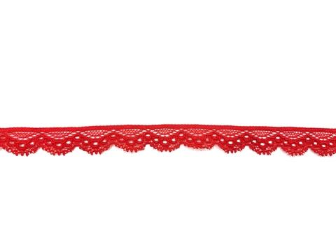 Кружево эластичное красное 1,4 см