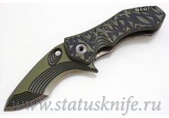 Нож Warren Thomas Custom One Off Flipper