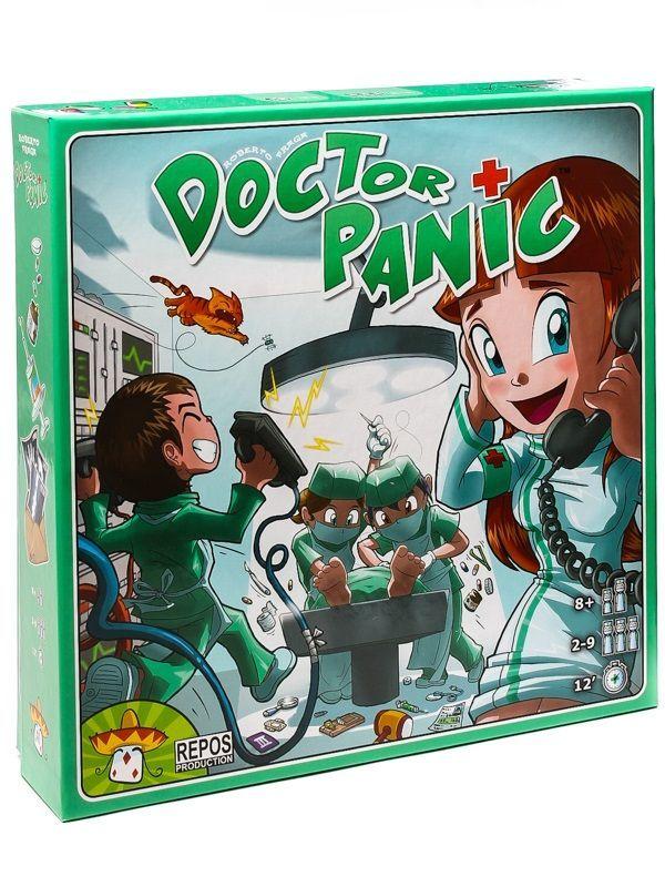Настольная игра Доктор Паника (Doctor Panic)