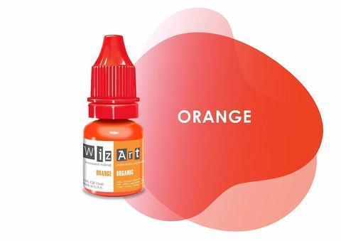 Orange (корректор серого/синего) • Wizart Organic • пигмент-корректор