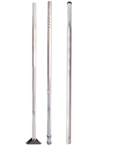 Мачта для антенн 4,5 метра алюминиевая составная
