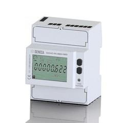 Счетчик энергии 80А 3-фазный 4-х проводный 4 DIN-RS485 Modbus, MID сертификат