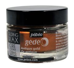 Воск (вакса) для золочения Pebeo Gedeo 30 мл Цвет Античное золото